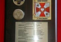 65 rocznica powstania 8 dywizji piechoty- plakieta pamiątkowa