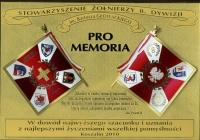 Plakieta Stowarzyszenia Żołnierzy 8 Dywizji