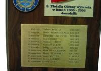 plakieta Dowódcy 9 FOW Hel
