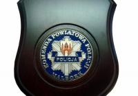 Plakieta Komendy Powiatowej Policji Malbork