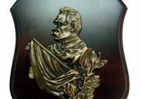 Plakieta mosiężna Józef Piłsudski