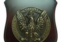 Plakieta mosiężna Ministerstwa Obrony Narodowej