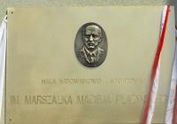 Tablica pamiątkowa w Luzinie